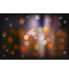 Bokeh light vintage background eps10 vector image vector image