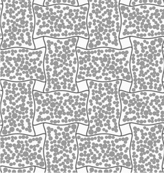 Dotted rectangle filled with dots vector image