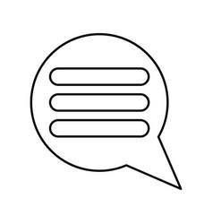 Comments black color icon vector