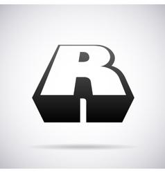 logo for letter R Design template vector image vector image