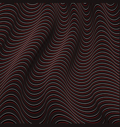 A black and red optical illusion vector
