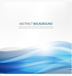 Abstract design creativity background blue vector