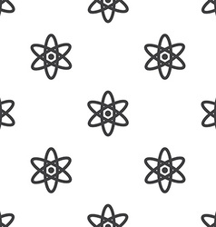 atom seamless pattern vector image