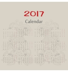 Calendar Two roosters russian format vector