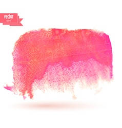 Color watercolor blotch vector