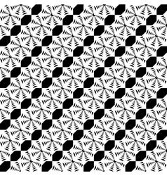 Design seamless monochrome lace decorative pattern vector image