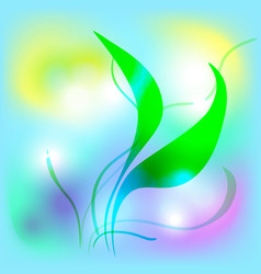 nature background light vector image