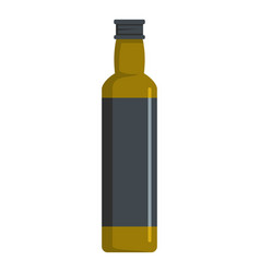 olive oil icon flat style vector image