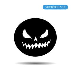 pumpkin halloween eps 10 vector image