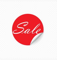 sale sticker special offer banner template design vector image