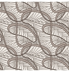 Seamless pattern abstratny of lines of vector image