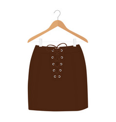 skirt template design fashion woman - women skirt vector image