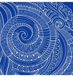 Vintage abstract doodles decorative ornamental vector