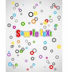 kid background vector image vector image
