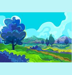 Landscape vector