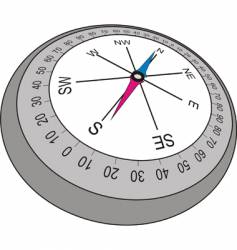 mariner compass vector image