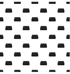 cat toilet pattern vector image