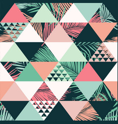 abstract trendy seamless pattern vector image