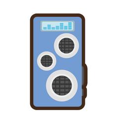 audio speaker isolated icon vector image