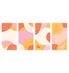 abstract background design templates vector image
