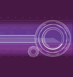 hi-tech background in violet color vector image