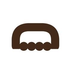 Massage accessory icon image vector