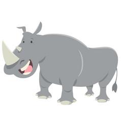 Rhinoceros animal character vector