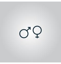 Sex symbol vector image