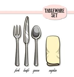 Tableware2 vector