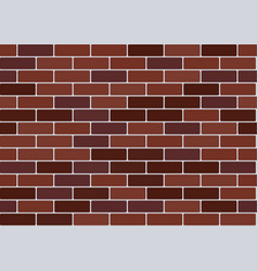 red brick wallpaper vector image