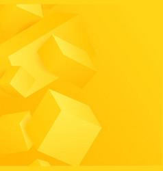 Abstract 3d cubes vector