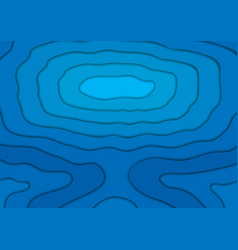 Blue corporate material wavy abstract background vector