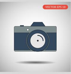 Camera icon eps 10 vector