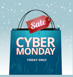 Design cyber monday graphics for the site vector