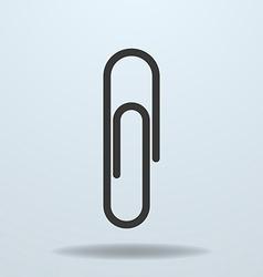 Icon of Paper Clip vector image