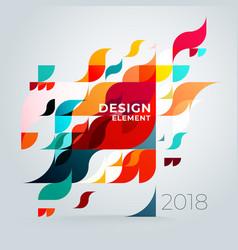 minimalistic creative concept diagonal abstract vector image