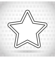 star icon design vector image