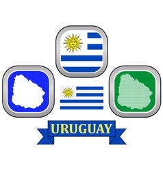 Symbol of Uruguay vector