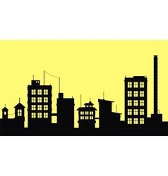 City 2 vector image