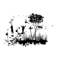 Children Fantasy World Concept vector image vector image