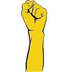 Revolt hand vector