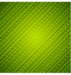 Bright green geometric polygonal texture design vector