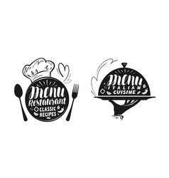catering canteen concept for design vector image