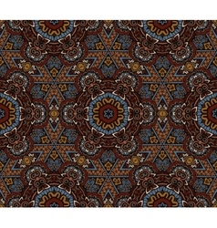 Abstract mosaic tiled motif vector