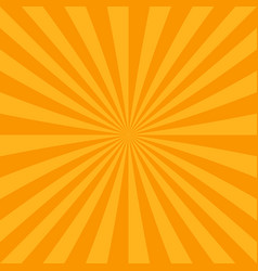 abstract sun burst background from radial stripes vector image
