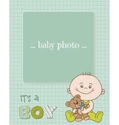 baboy arrival card vector image