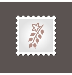 Currant stamp outline vector