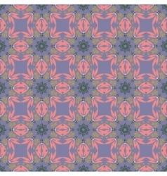 Geometric ornament seamless pattern Textile vector image