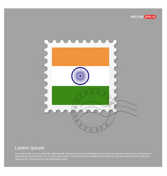 indian indpenedence day design vector image