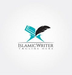 Islamic logo design ramadan kareem icon vector